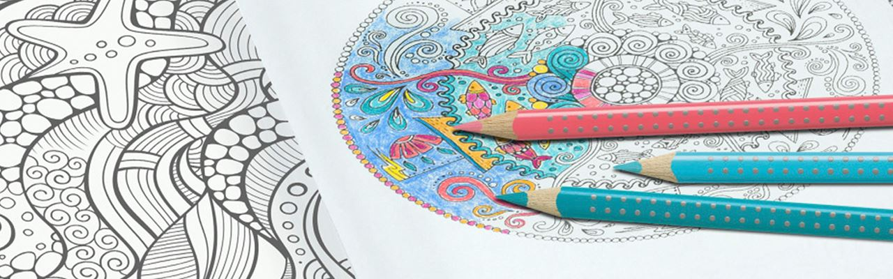 Amazing Colouring Book Sets For Creative Relaxation