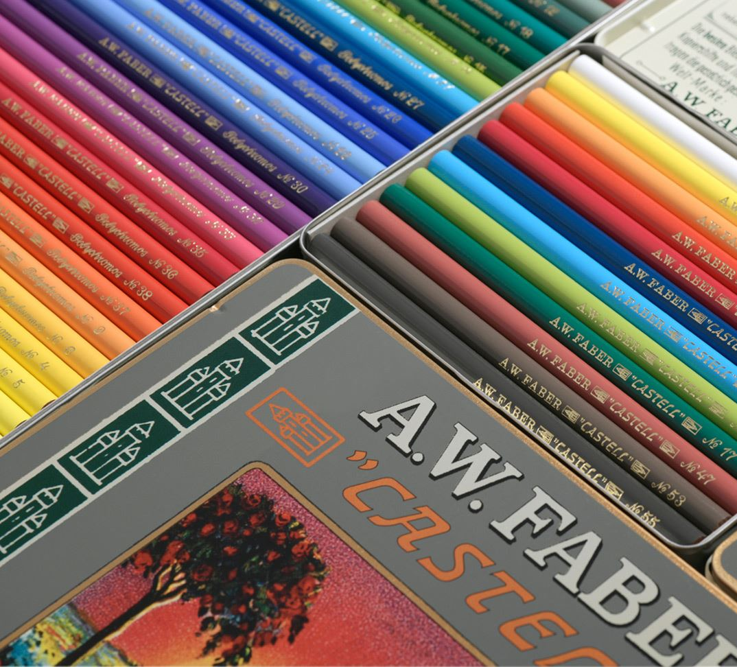 Faber Castell 111th Anniversary Limited Edition Polychromos 12 Pencil Tin