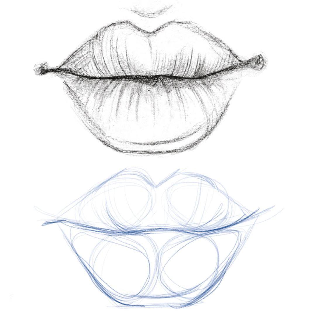 пост картинки как рисовать губы известно, любовь