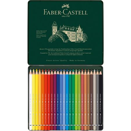 Faber-Castell Albrecht Dürer Magnus Watercolour Pencils Tin of 24