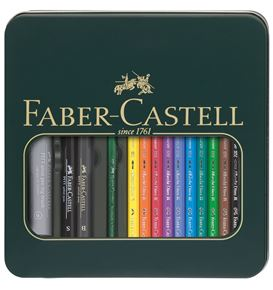 Faber-Castell - Mixed media tin Albrecht Dürer + PITT artist pen