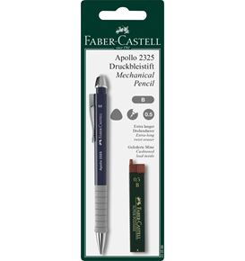 Faber-Castell - Apollo mechanical pencil set, 0.5 mm, 2 pieces