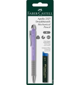 Faber-Castell - Apollo mechanical pencil set, 0.7 mm, 2 pieces