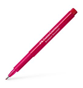 Faber-Castell - Fibre tip pen Broadpen document red