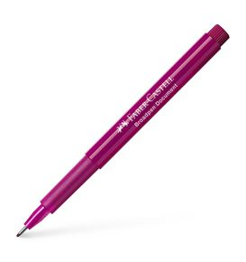 Faber-Castell - Fibre tip pen Broadpen document magenta