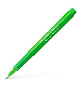 Faber-Castell - Fibre tip pen Broadpen document grass green