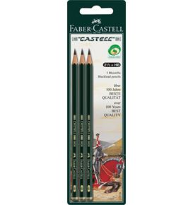 Faber-Castell - Graphite pencil Castell 9000 HB 3x