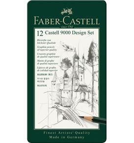 Faber-Castell - Graphite pencil Castell 9000 Design set