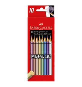 Faber-Castell - Metallic colours x 10