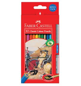 Faber-Castell - 12 Classic Colour Pencils