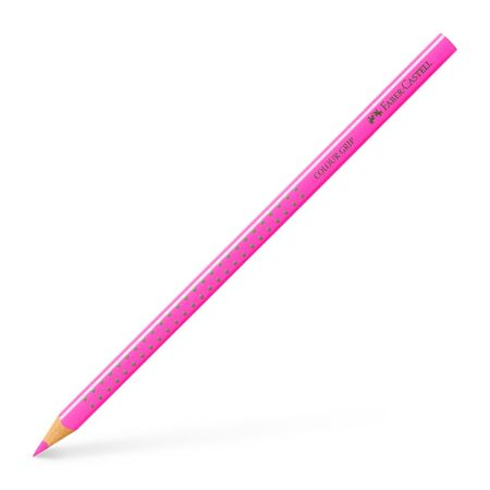 Faber-Castell - Colour Grip colour pencil, pink neon