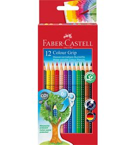 Faber-Castell - Coloured pencil Colour Grip cardboard box of 12