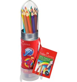 Faber-Castell - Colour Grip colouring set Rocket, 16 pieces