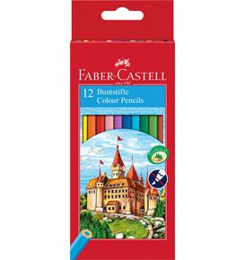 Faber-Castell - Classic Colour colour pencil, cardboard wallet of 12