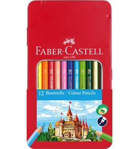 Faber-Castell - Classic Colour colour pencil, tin of 12