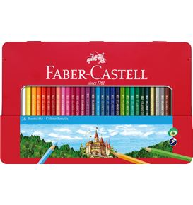 Faber-Castell - Classic Colour colour pencils, tin of 36