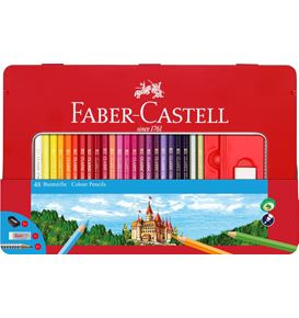 Faber-Castell - Classic Colour colour pencils, tin of 48
