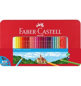 Faber-Castell - Classic Colour colour pencils, tin of 60