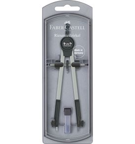 Faber-Castell - Giant springbow compass, black