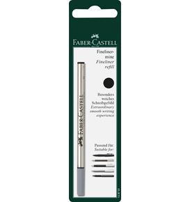 Faber-Castell - Fineliner refill, black, set of 1