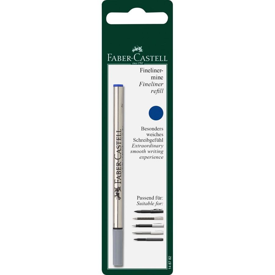Faber-Castell - Fineliner refill, blue, set of 1