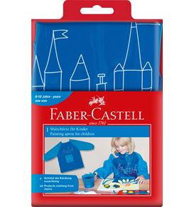 Faber-Castell - Painting apron 4 young artist Blue