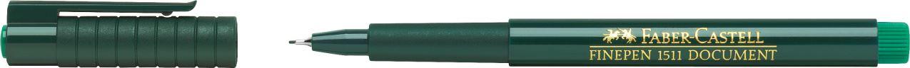 FABER-CASTELL Tintenfeinschreiber FINEPEN 1511 grün