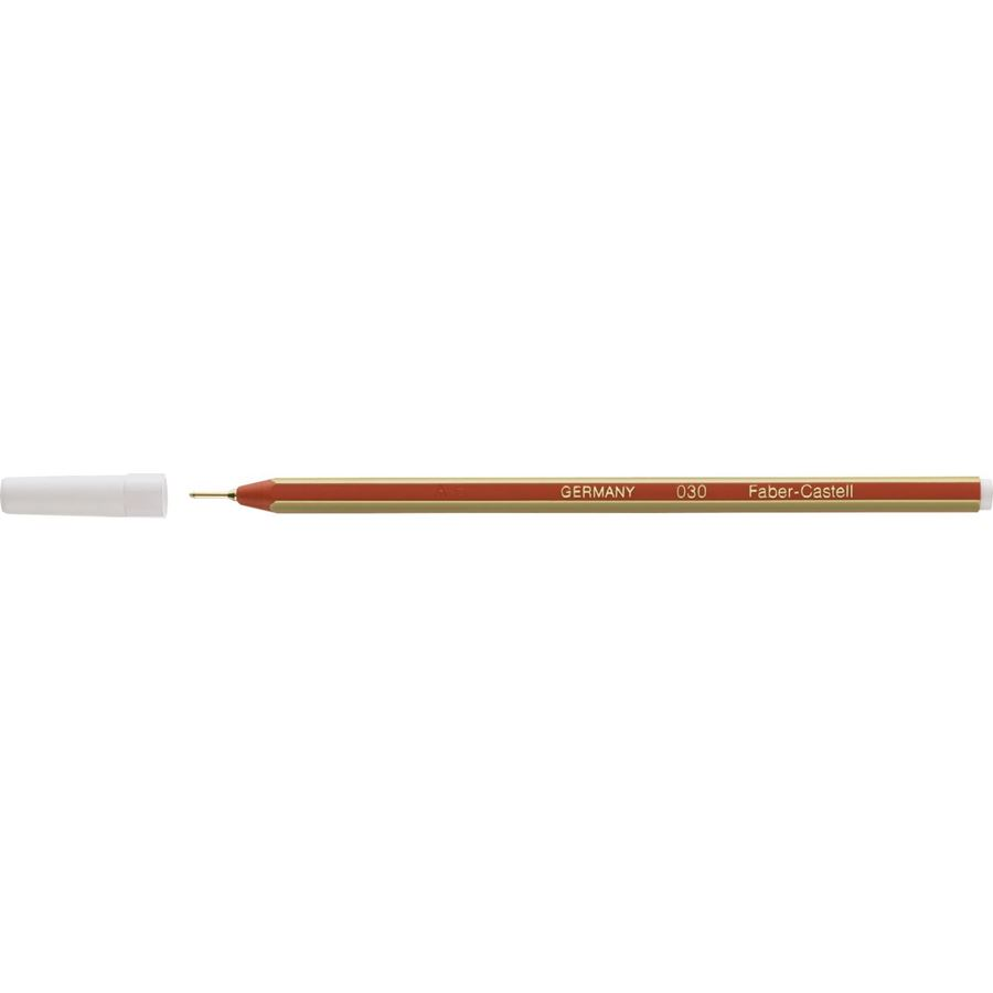 Faber-Castell - Goldfaber 030 ballpoint pen, M, red, non-refillable