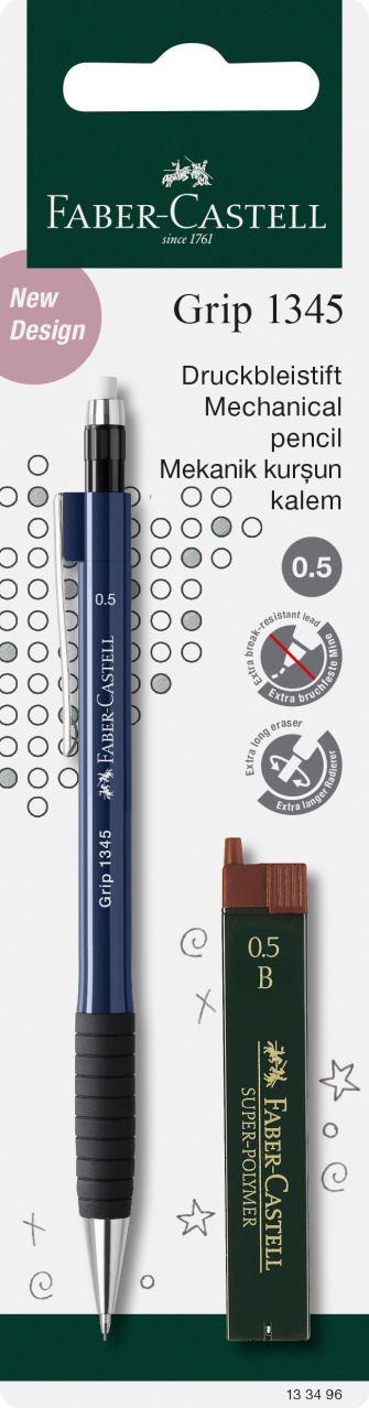 Minenstärke: 0,7 mm rot Faber-Castell 134721 Druckbleistift GRIP
