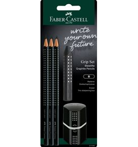 Faber-Castell - Grip 2001 Set black