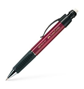 Faber-Castell - Grip Plus mechanical pencil, 0.7 mm, red metallic