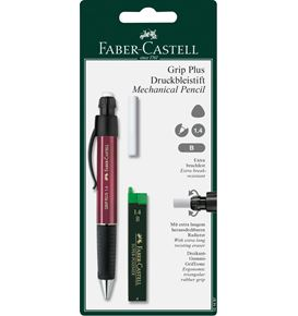 Faber-Castell - Grip Plus mechanical pencil set, 1.4 mm, 3 pieces