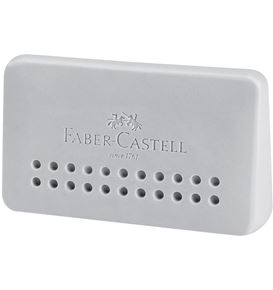 Faber-Castell - Grip 2001 edge eraser, grey