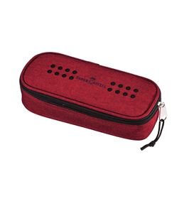 Faber-Castell - Grip pencil case with rubber band, marsala red