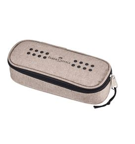 Faber-Castell - Grip pencil case with rubber band, sand