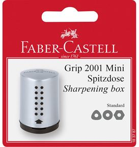 Faber-Castell - Sharpener Grip 2001 Mini silver