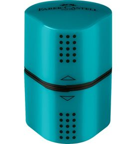 Faber-Castell - Grip 2001 trio sharpening box, turquoise