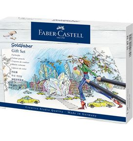 Faber-Castell - Goldfaber colour pencil, gift set, 23 pieces