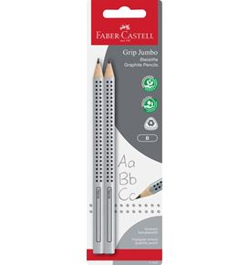 Faber-Castell - Jumbo Grip graphite pencil set B, 2 pieces