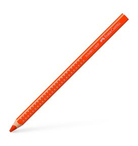 Faber-Castell - Jumbo Grip colour pencil, dark cadmium orange