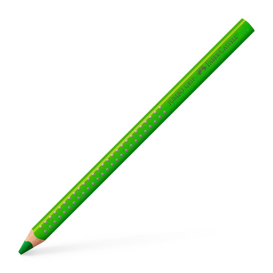 Faber-Castell - Jumbo Grip colour pencil, grass green