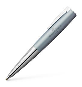 Faber-Castell - Loom Metallic twist ballpoint pen, B, light blue