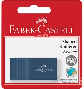 Faber-Castell - Bicolor eraser, set of 1, 3 trend colours, sorted