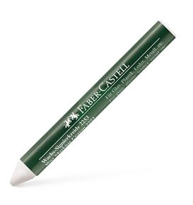 Faber-Castell - Wax crayon, white