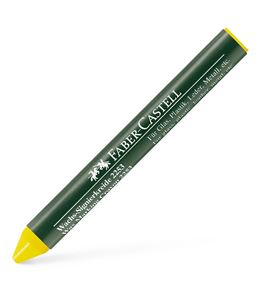 Faber-Castell - Wax crayon, yellow