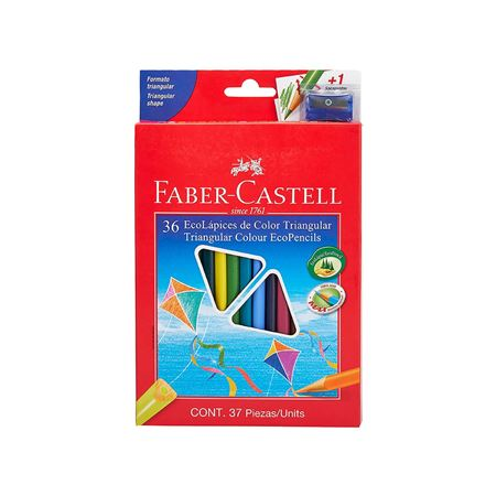 Faber-Castell - Col Ecopen trian 120536EXP 36x w/sh