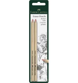 Faber-Castell - Perfection eraser pencil, set of 2