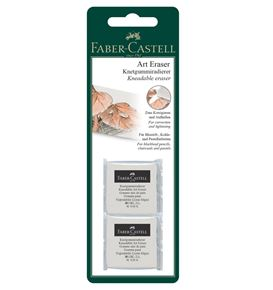 Faber-Castell - Kneadable Art Eraser, white, set of 2