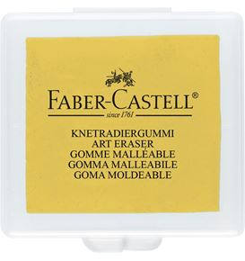 Faber-Castell - Kneadable eraser yellow/red/blue in plastic box