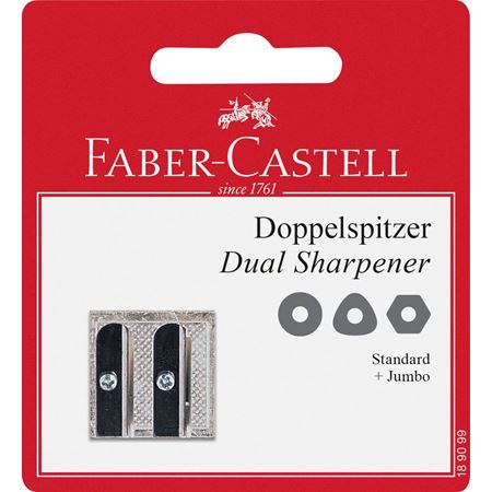 Faber-Castell - 50-34 metal twin sharpener, set of 1